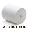2-1/4 inch wide x 85 ft Thermal Paper Rolls, 50 Rolls