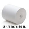 2-1/4 inch x 50 ft Thermal Mobile Printer Roll, 50 Rolls
