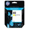 Genuine HP 82 C4913A 69ML Yellow Ink Cartridge