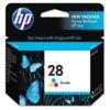 Genuine HP 28 C8728A Color Ink Cartridge