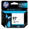 Genuine HP 97 C9363WN High Capacity Color Ink Cartridge