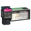 Original Lexmark C540A1MG Magenta Return Program Toner Cartridge