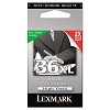 Original Lexmark 18C2170 #36XL High Yield Black Return Program Ink Cartridge