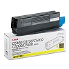 Original Okidata 42127401 High Yield Yellow Toner Cartridge