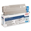 Original Okidata 43381903 Cyan Toner Cartridge