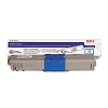 Original Okidata 44469703 (Type C17) Cyan Toner Cartridge