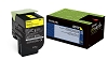 Original Lexmark 801Y Yellow Return Program Toner