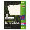 Avery 45366 Eco-Friendly White File Folder Labels