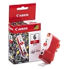 Original Canon BCI-6R Red Ink Cartridge