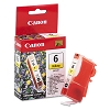 Original Canon BCI-6Y Yellow Ink Cartridge