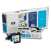 Genuine HP 80 C4821A Cyan Ink Printhead and Cleaner Value Pack