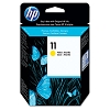 Genuine HP 11 C4838AN Yellow Ink Cartridge