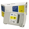 Genuine HP 80 C4873A Yellow 175ml Ink Cartridge