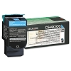 Original Lexmark C544X1CG Extra High Yield Cyan Return Program Toner Cartridge