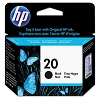 Genuine HP 20 C6614D Black Ink Cartridge