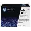 Genuine HP 61X C8061X Black Toner Cartridge