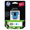 Genuine HP 02XL C8730WN High Capacity Cyan Ink Cartridge