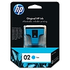Genuine HP 02 C8771WN Cyan Ink Cartridge