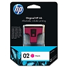 Genuine HP 02 C8772WN Magenta Ink Cartridge