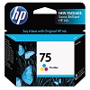 Genuine HP 75 CB337WN Color Ink Cartridge