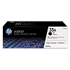 Genuine HP 35A CB435AD Black CB435A Toner Cartridge 2 Pack