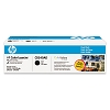 Genuine HP 125A CB540AD Black Toner Cartridge 2 Pack