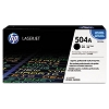 Genuine HP 504A CE250A Standard Capacity Black Toner Cartridge