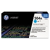Genuine HP 504A CE251A Cyan Toner Cartridge