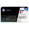 Genuine HP 504A CE253A Magenta Toner Cartridge