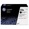 Genuine HP 05X CE505XD High Yield Toner Cartridge 2 Pack