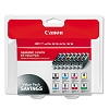 Original Canon CLI-8 Black and Color Ink Cartridge 8 Pack