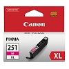 Original Canon CLI-251XLM High Capacity Magenta Ink Cartridge