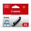 Genuine Canon CLI-271XL High Capacity Cyan Ink Cartridge