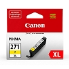 Genuine Canon CLI-271XL High Capacity Yellow Ink Cartridge