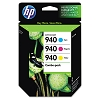 Genuine HP 940 CN065FN Color Ink Cartridge Combo Pack