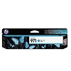 Genuine HP 971 Standard Yield Cyan Ink Cartridge