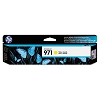 Genuine HP 971 Standard Yield Yellow Ink Cartridge