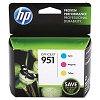 Genuine HP 951 Color Ink Cartridge Combo Pack