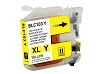 Compatible Brother LC103Y High Yield Yellow Ink Cartridge