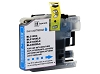 Compatible Brother LC105C Super High Yield Cyan Ink Cartridge