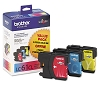 Original Brother LC613PKS Color Ink Cartridge Multipack
