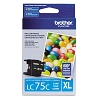 Original Brother LC75C High Capacity Cyan Ink Cartridge