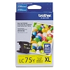 Original Brother LC75Y High Capacity Yellow Ink Cartridge