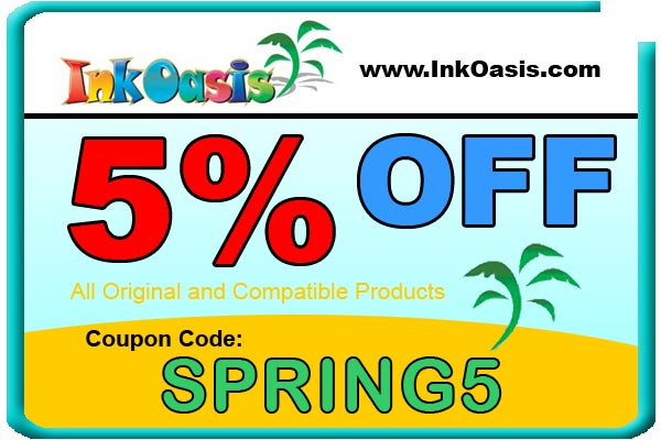 5% off Coupon: Spring5