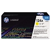 Genuine HP 124A Q6002A Yellow Toner Cartridge