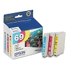 Original Epson T069520 Color Ink Cartridge 3 Pack