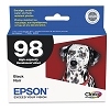 Original Epson 98 T098120 High Capacity Black Ink Cartridge