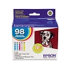 Original Epson 98 T098920 High Capacity Color Ink 5 Pack