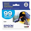 Original Epson 99 T099220 Standard Capacity Cyan Ink Cartridge