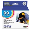 Original Epson 99 T099920 Standard Capacity Color Ink 5 Pack